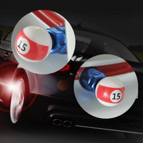 2 Valve Cap D/'Air Tire Rocket Ball Cube Dice Color Bike Car Motorcycle BMX