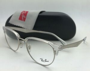 d2a806b48de Brand New RAY-BAN Rx-able Eyeglasses RB 6396 2936 51-19 Clear and ...
