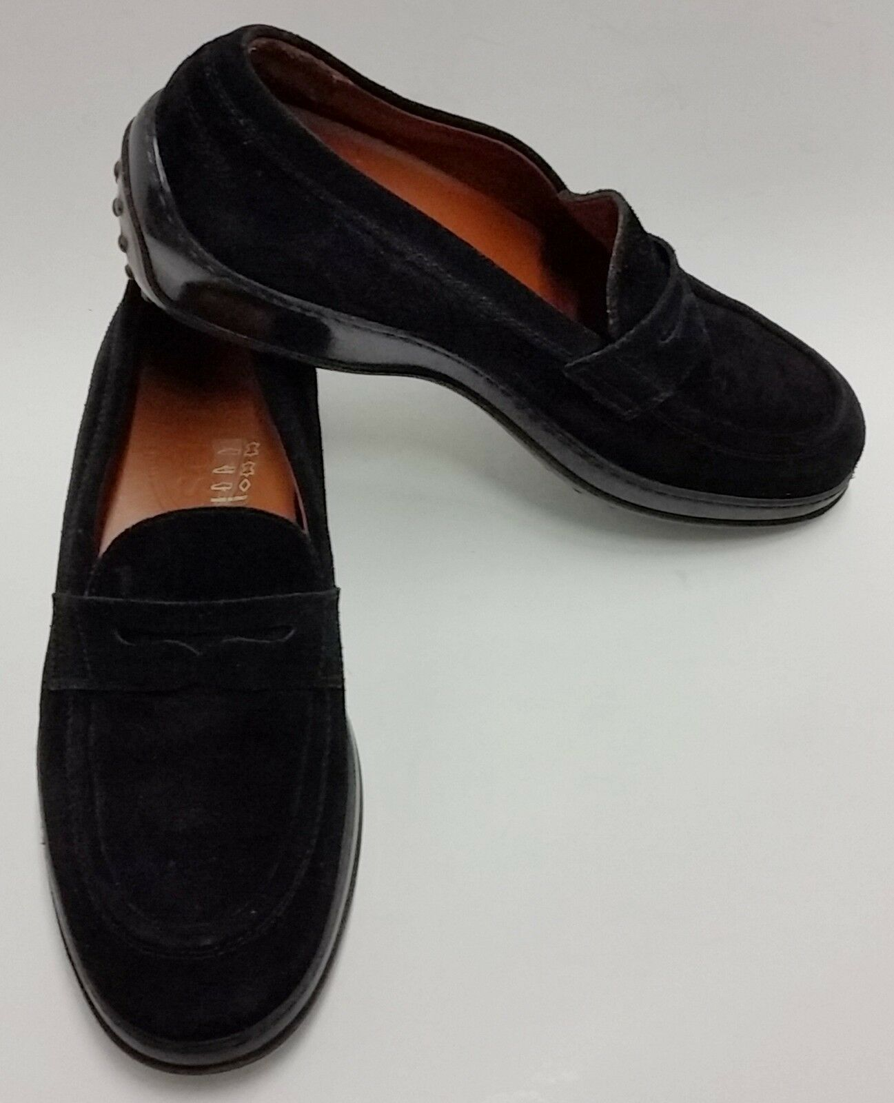 Tods shoes Drivers Loafers Black Slip-On  Womens Size 6.5