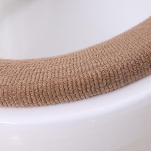 3X Bathroom Toilet Seat Closestool Washable Soft Warmer Mat Cover Pad Cushion US