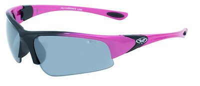 Cool Breeze Safety Glasses - Smoke Mirror Lenses - ANSI Z87.1