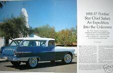 55 56 57 Pontiac Safari 12 Pgs Of Info