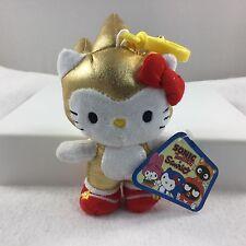 NYCC 2016 Hello Kitty GOLD SONIC Plush Keychain bag charm version exclsv Toynami