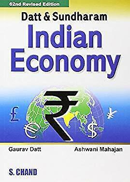 Indian Economy 67th Edition by Ruddar, Datt