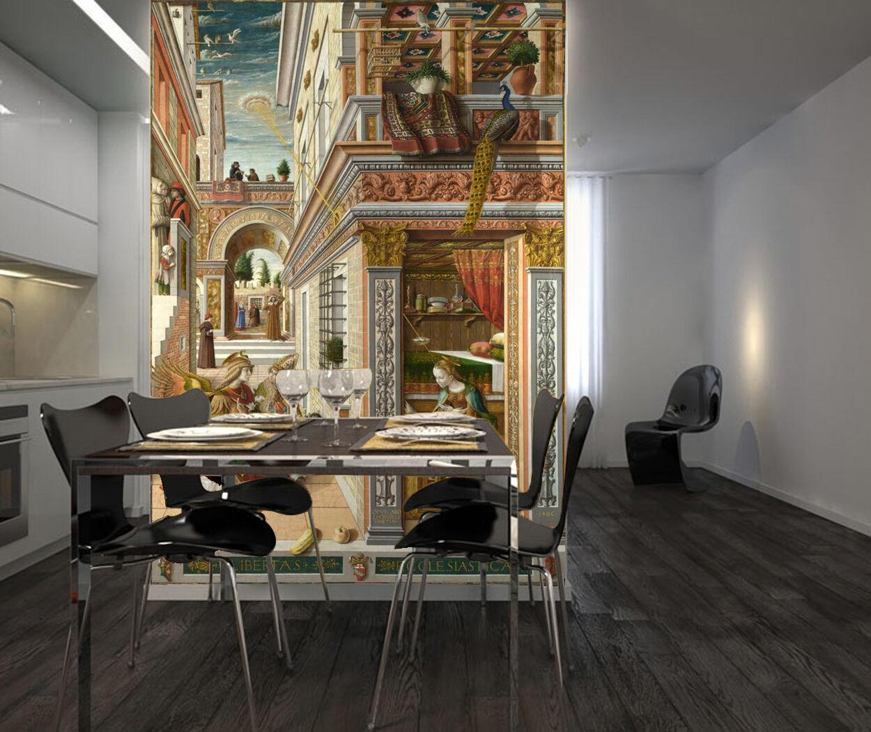 3D Ancient House 775 WallPaper Murals Wall Print Decal Wall Deco AJ WALLPAPER