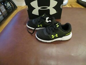 toddler boy under armor shoes