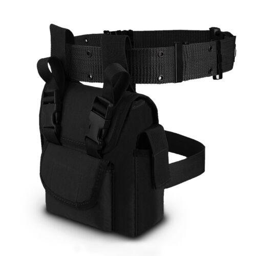Outdoor Multi-function Leg Bag Tactical Waist Belt Slave Pouch Tools Accs Bag
