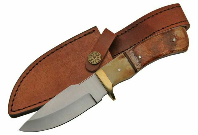 Pakistan Hunter Bone with Sheath 203358-BO