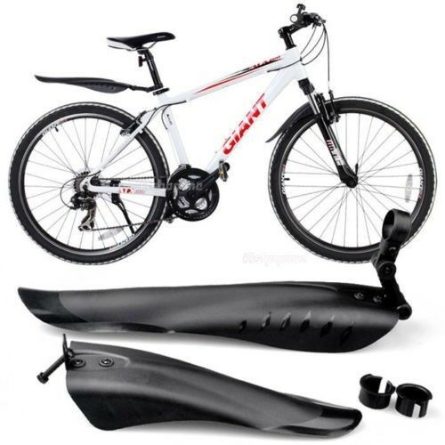 Cycling MTB Road Bike Bicycle Front Mudguard + Rear Fender Mud Guard Set New