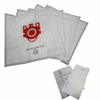 5 Bags For Miele Fjm Synthetic Vacuum Cleaner Bag + 2 Filters Dvc