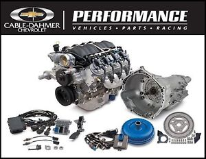 Cable Dahmer Chevrolet >> CHEVROLET OEM GM Performance LS3 430 HP Connect & Cruise ...