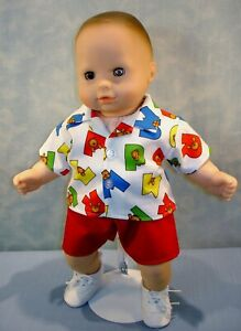 15-034-Doll-Clothes-Bears-on-Alphabets-Boys-Back-to-School-Outfit-by-Jane-Ellen