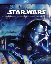 STAR WARS ORIGINAL TRILOGY-trilogia originale-EPISODI4,5,6(3 BLU-RAY)-COFANETTO