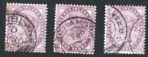 Royaume-uni-n-73-LES-TROIS-NUANCES-DE-COULEURS-obliteres