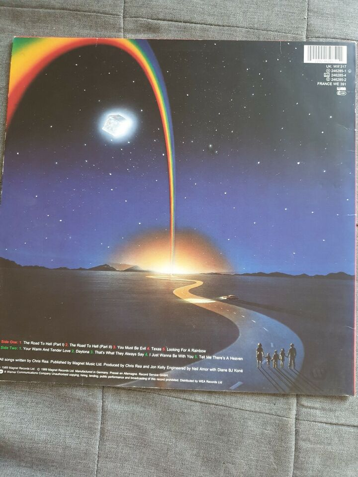 LP, Chris Rea, The Road to Hell