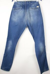 Scotch & Soda Hommes Droit Jambe Slim Jean Taille W32 L34 ATZ1031