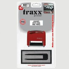 DIY rubber stamp Kit Self Inking Business Address Garage Name Etc Personalised