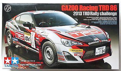 TAMIYA 1/24 GAZOO Racing TRD 86 (TOYOTA 86 Rally) #24337 Scale Model Kit