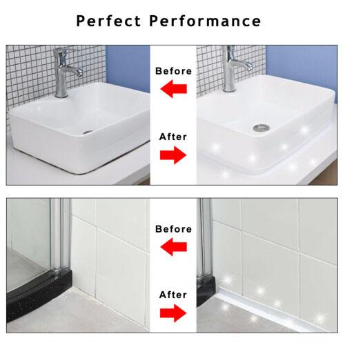 Self Adhesive PVC Sealing Tape Kitchen Bath Sink Caulk Strip Corner Waterproof