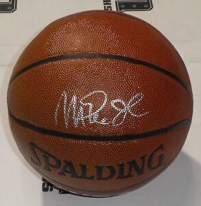 Magic-Johnson-Signed-Lakers-Basketball-PSA-DNA-COA-Autograph-Michigan-State-HOF