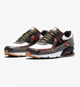 Details about Nike Air Max 90 Camo Denim Remix White Black Gold Cargo  DB1967-100 Size 8-12 New