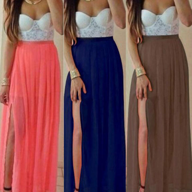 Womens Sexy Prom Gown Long Party Cocktail Evening Wedding Long Dress Hoc