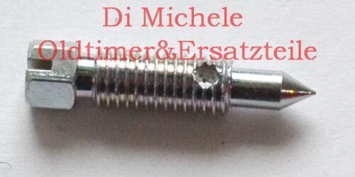 Porsche 911 T Recirculating screw 40 TIN Zenith Umluftschraube ByPass Schraube