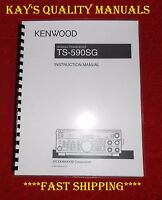 Highest Quality Ts-590sg Instruction Manual 32 Lb Paper W/the Heavier Covers