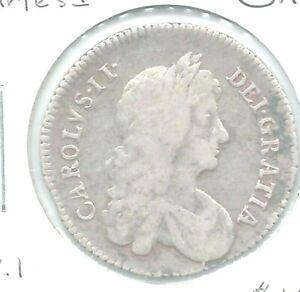 Great-Britain-1668-Charles-II-Shilling