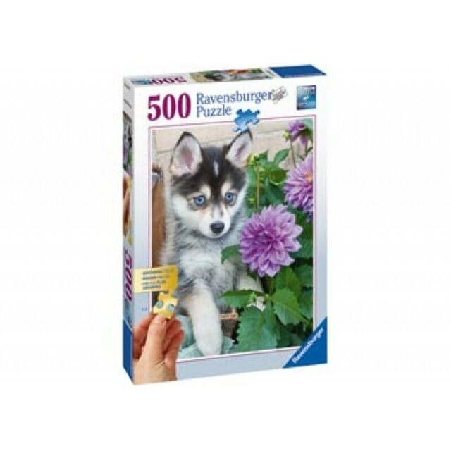 Ravensburger Cute Husky Puzzle 500pc