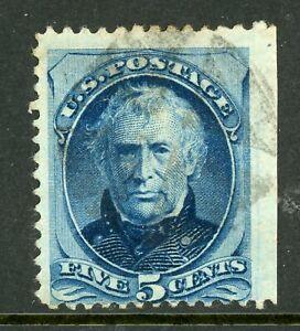 USA-1879-Continental-5-Taylor-Blue-Scott-185-VFU-I558
