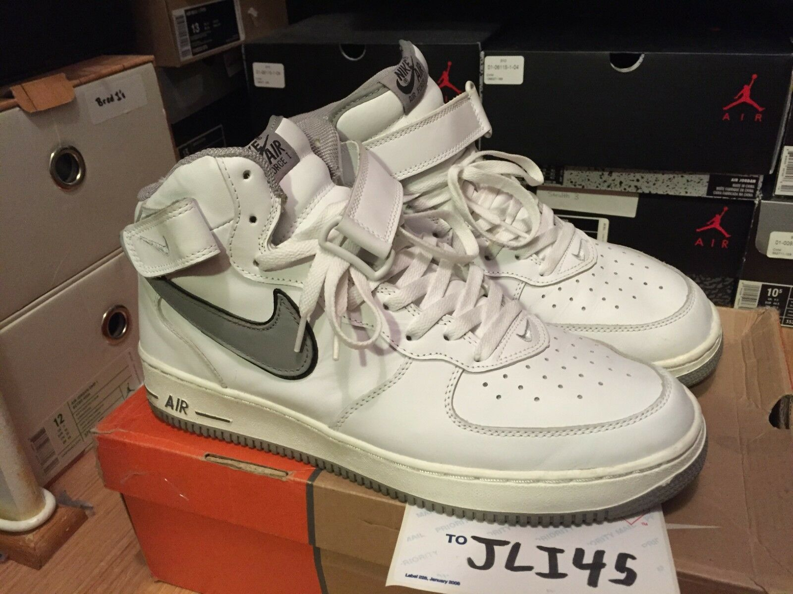Nike Air Force 1 One Size 13 2004 Sneakers shoes Max Vapor Retro