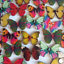10 Wooden Butterfly Shapes Size 21 X 27mm ~ Crafts Art Embellishments ~ New