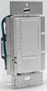 lutron maestro ms op600g occupancy sensor wall dimmer. Black Bedroom Furniture Sets. Home Design Ideas
