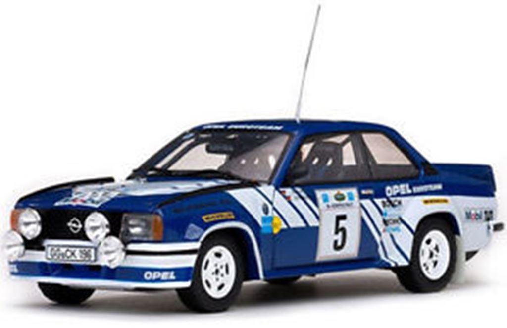 SUNSTAR 5361 5362 5363 OPEL ASCONA 400 RALLYE modèle modèle modèle métalliques voitures 1981 1982 1 18 ème 6398ee