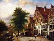 Spohler Johannes Franciscus Zuiderhavendijk In Enkhuizen A4 Print