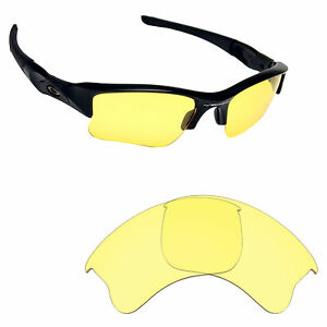 c4e3f002e7 Image is loading Hawkry-Replacement-Lenses-for-Oakley-Flak-Jacket-XLJ-