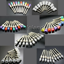 70 PCS Disposable Dental Prophy Brush Cup Polishing Polisher 7 Mixed Types