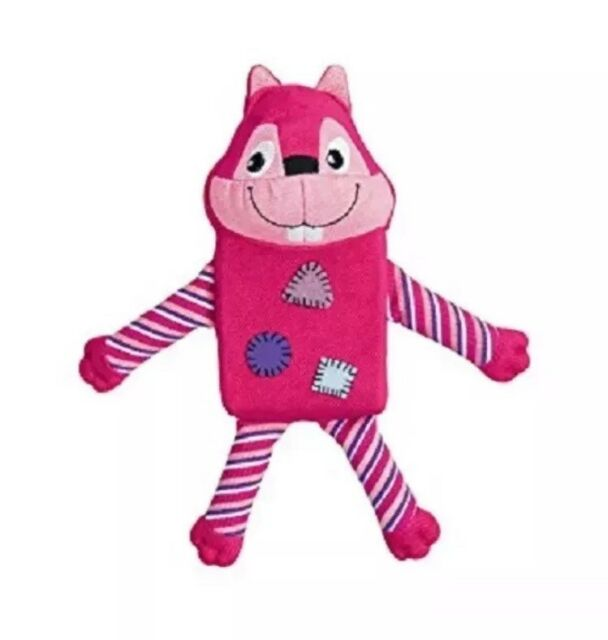 Kong Zillowz Squirrel Pink Large, Premium Service, Fast Dispatch