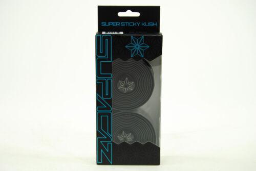 Black Supacaz Super Sticky Kush Road Bike Handlebar Tape