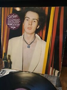 'Sid Sings' Sid Vicious 12 Inch Vinyl LP (No Poster)