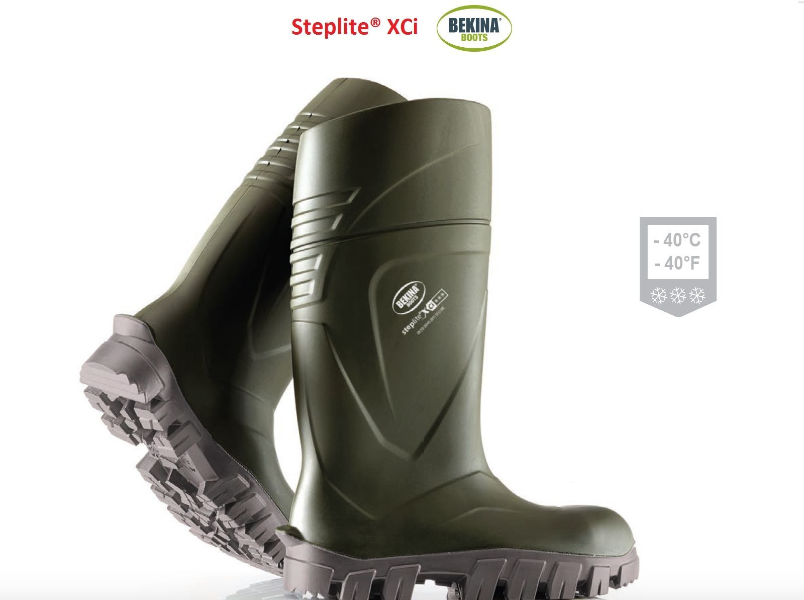 Bekina Steplite® XCI Wellies invernale Wellington Stivale invernale Wellies leggero b71757