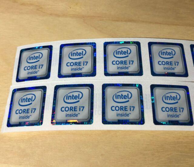 Lot of 5 Intel Core i5 vPro Inside Stickers 18.5 x 24mm Sandy Bridge For Desktop