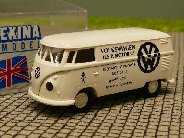 1 87 Brekina   1065 VW t1 B VW h.s.p. MOTORE GB riquadro 93244