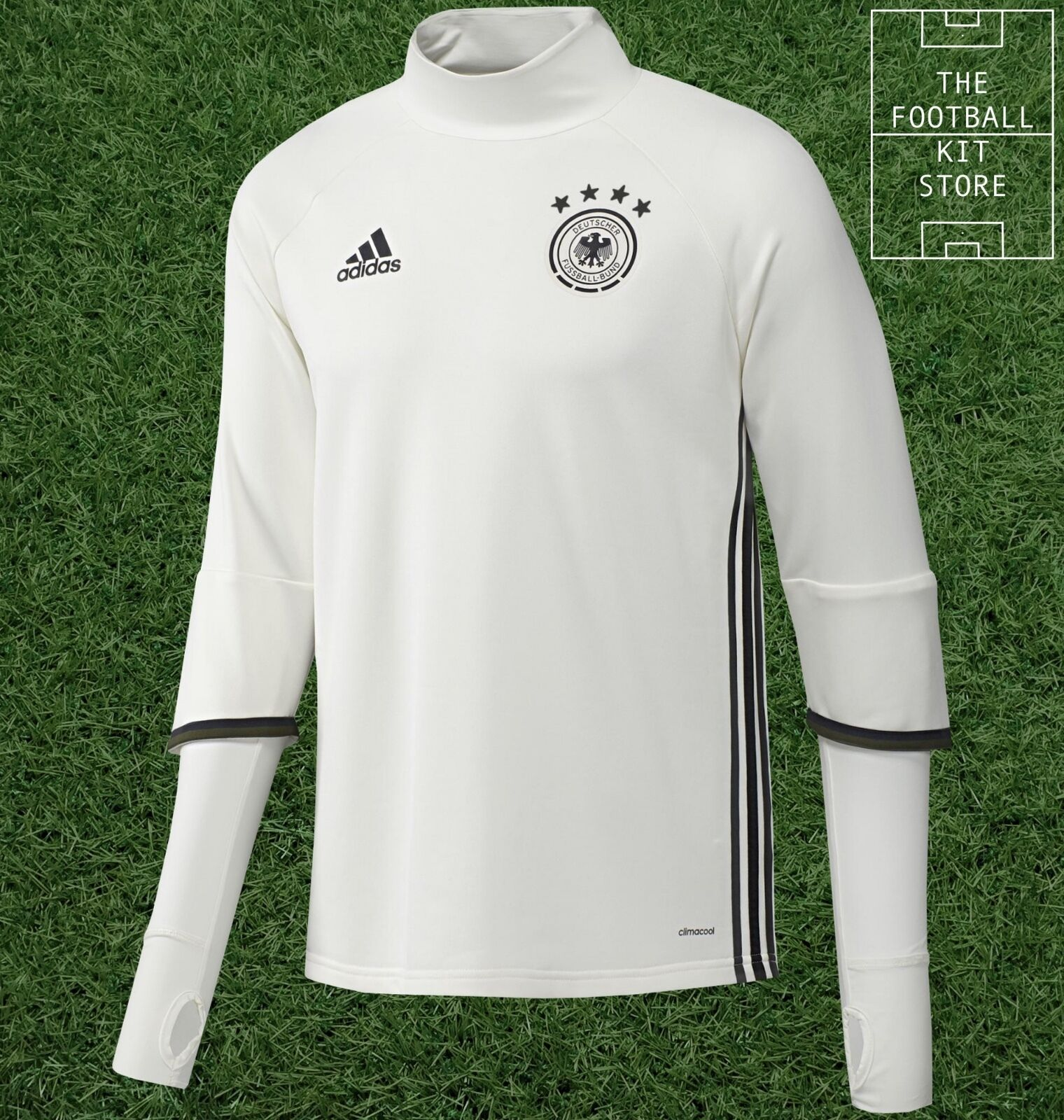 Germany Midlayer - Official adidas Football Training Top - Mens - All Sizes