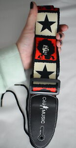 Jimi-Hendrix-CLEARANCE-Guitar-or-bass-STRAP-XS-XL-Adjustable-present-gift-dads