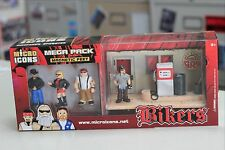 Harley motorcycle fans, 8 Micro Icons Mega Packs about 1:32 scale Biker figures