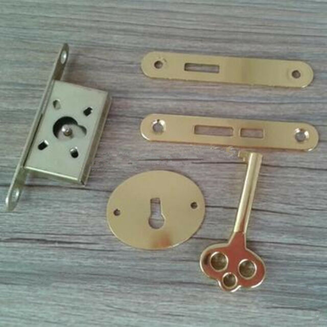 1 Set Furniture Door Lock With Key Drawer Cabinet Wardrobe Cupboard