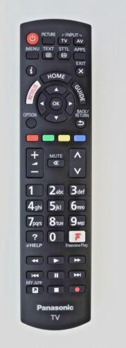 GENUINE ORIGINAL PANASONIC N2QAYB001212 SMART 4K LED TV REMOTE NETFLIX FREEVIEW