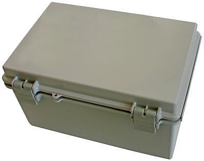 Plastic Box Solid Door Electrical Enclosure Solid Door NEMA w Hinge 11.3x7.5x5.5